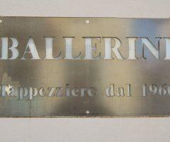 Insegna Ballerini Tappezziere Albate